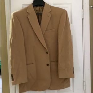 Camel men's sports coat